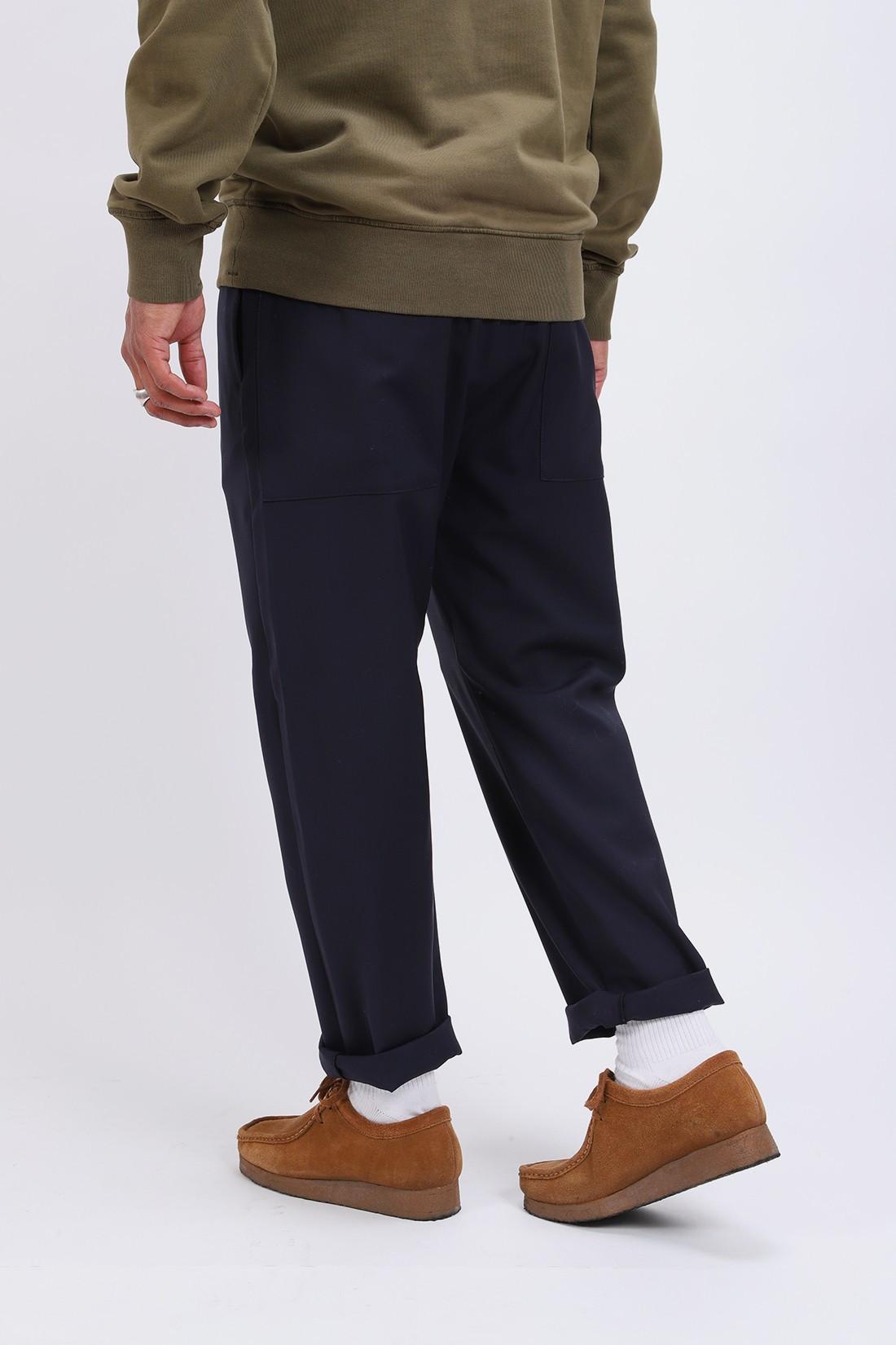 BARENA / Pantalone bativoga tela Navy