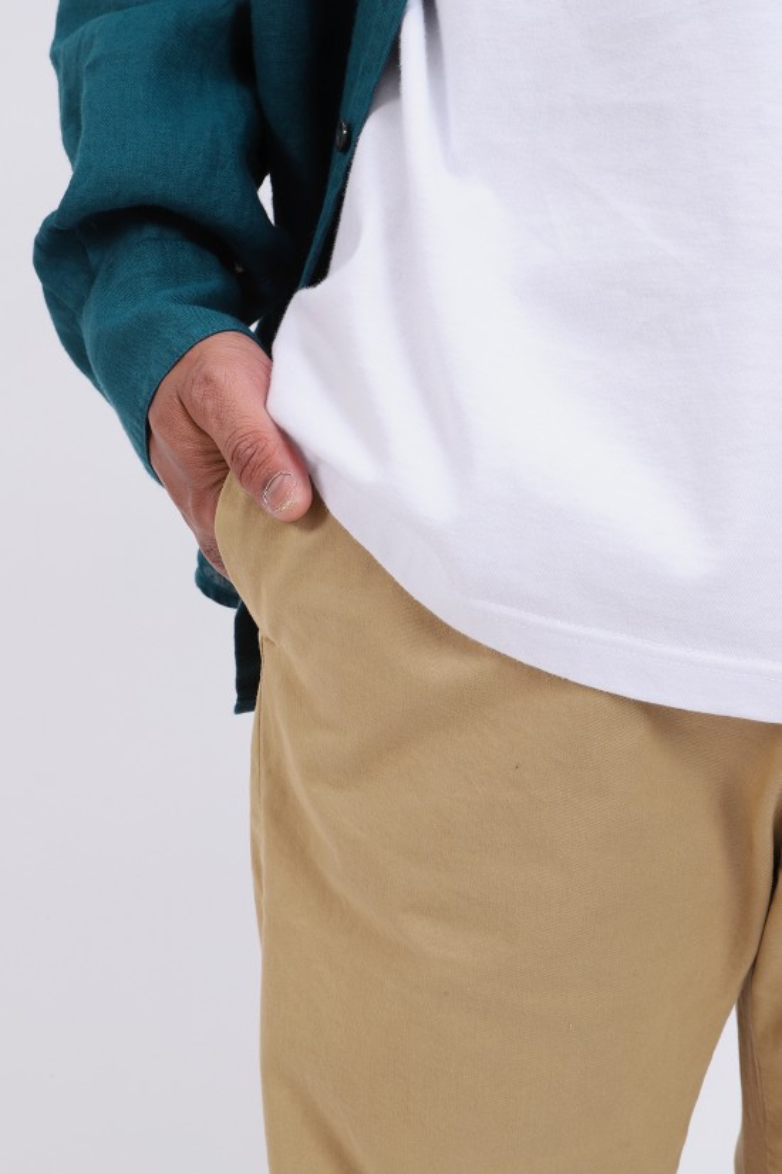 BARENA / Pantalone bativoga stino Khaki