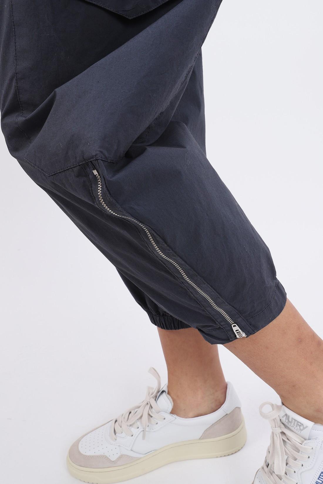 BARENA FOR WOMAN / Pantalon cargo pavion Notte