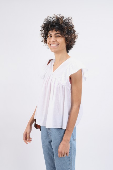 Blouse hourra White