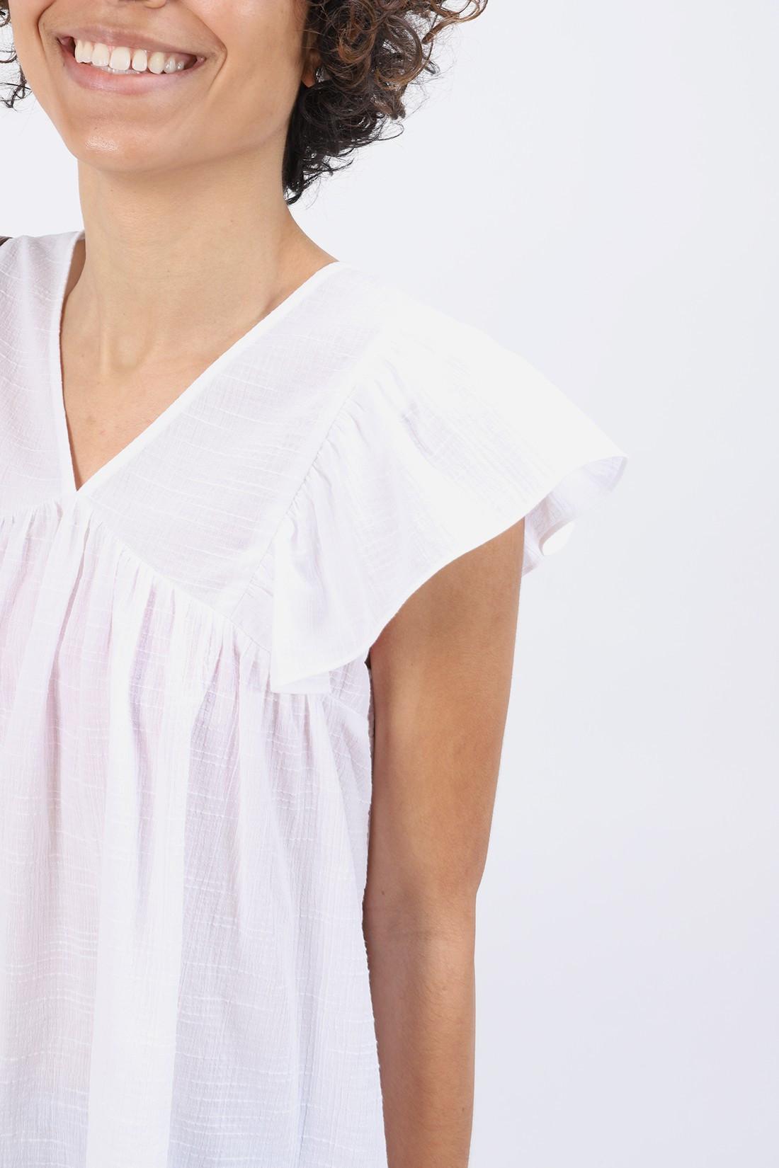 BELLEROSE FOR WOMAN / Blouse hourra White