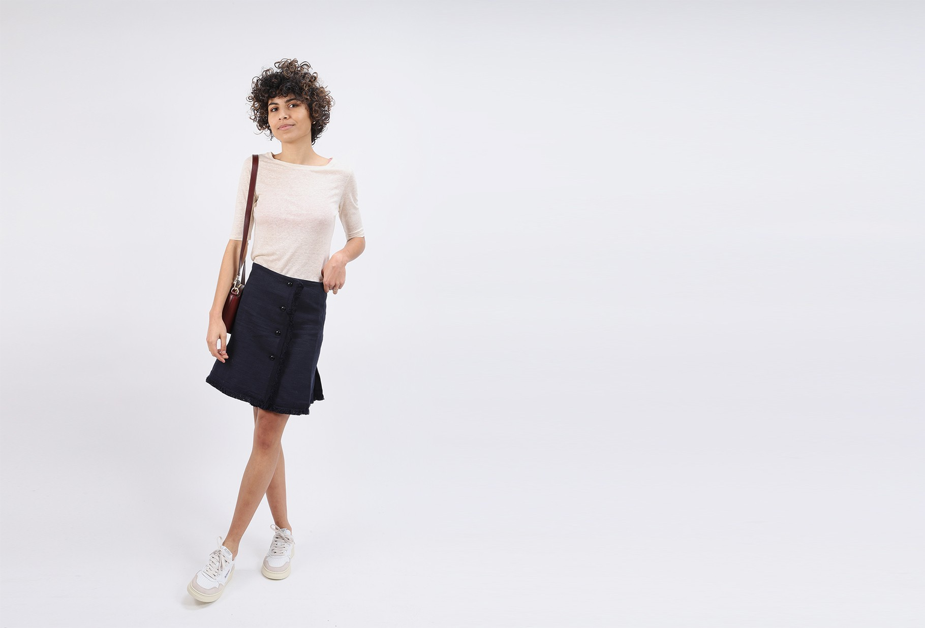 BELLEROSE FOR WOMAN / Seas tee shirt