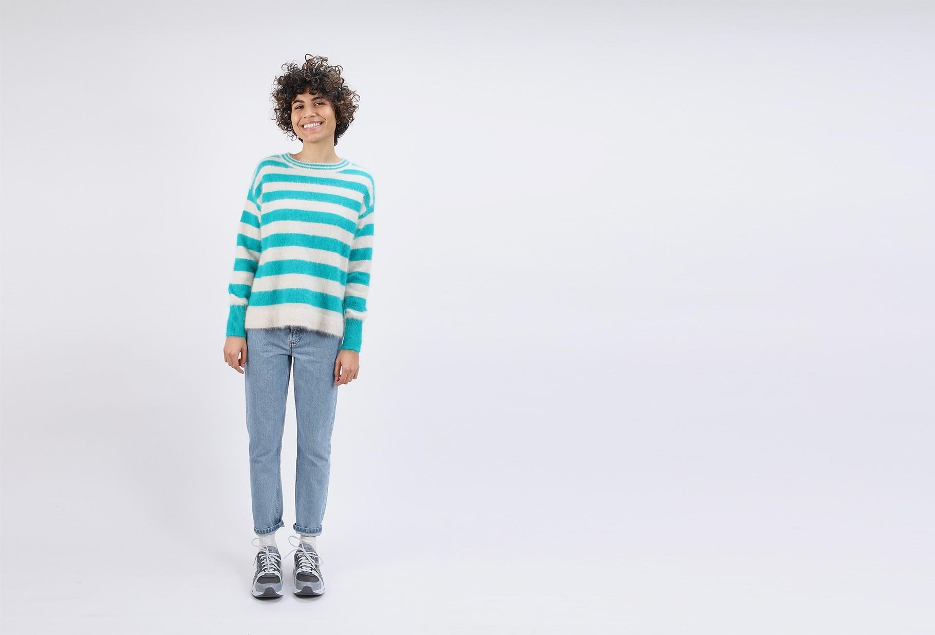BELLEROSE FOR WOMAN / Datax knit sweater Stripe a