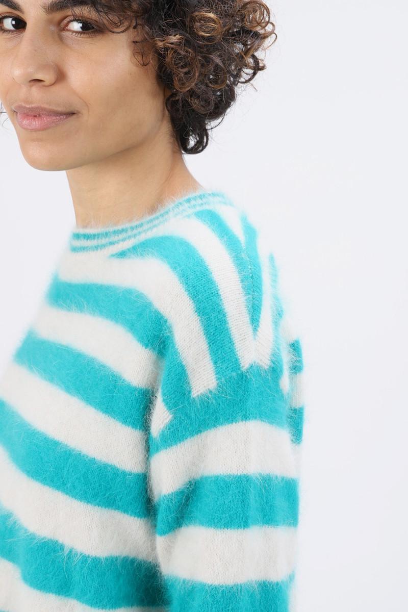 Datax knit sweater Stripe a