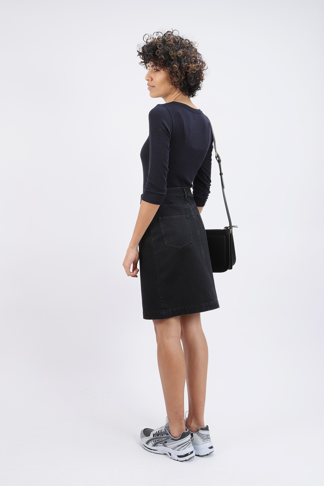 A.P.C. FOR WOMAN / Jupe therese Faux noir