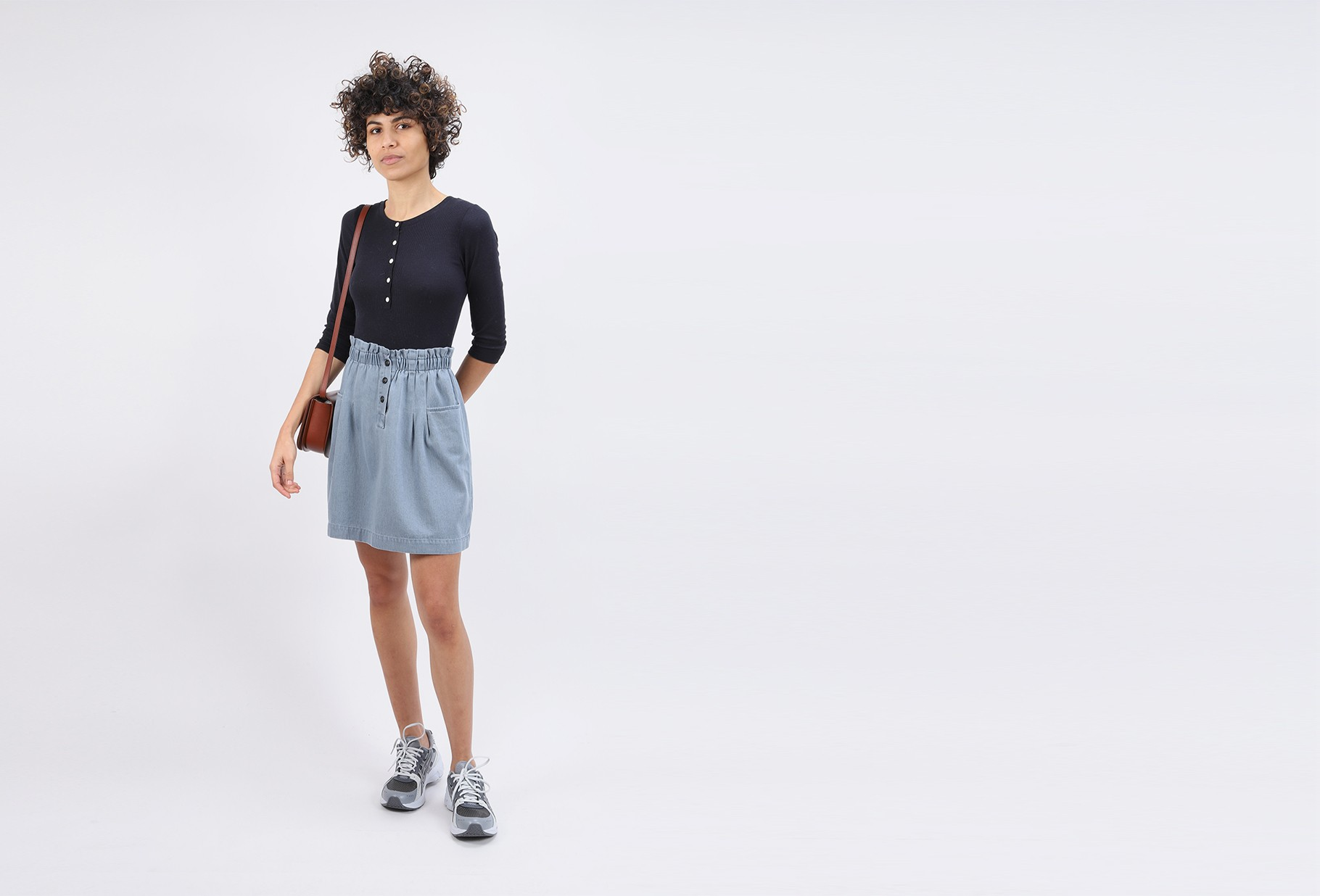 BELLEROSE FOR WOMAN / Jupe avery Bleached
