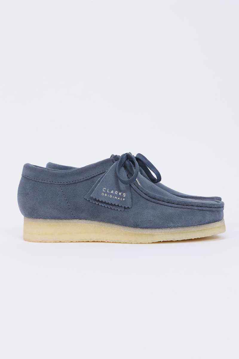 Wallabee suede Blue