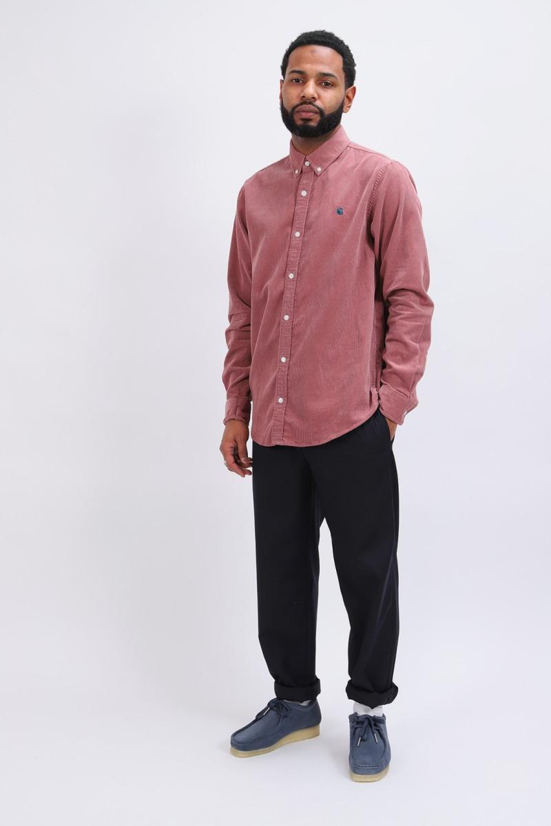 L/s madison fine cord shirt Malaga