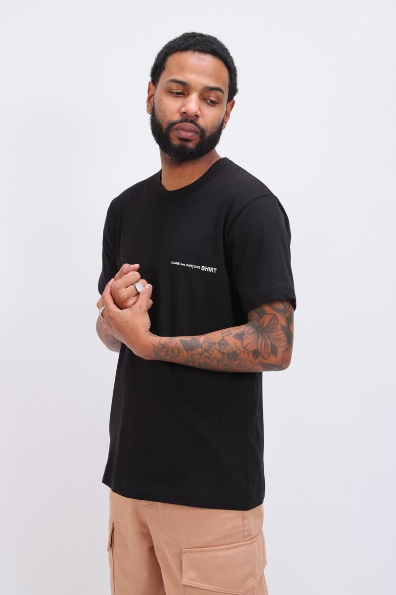 Cdg shirt logo ss t-shirt Noir
