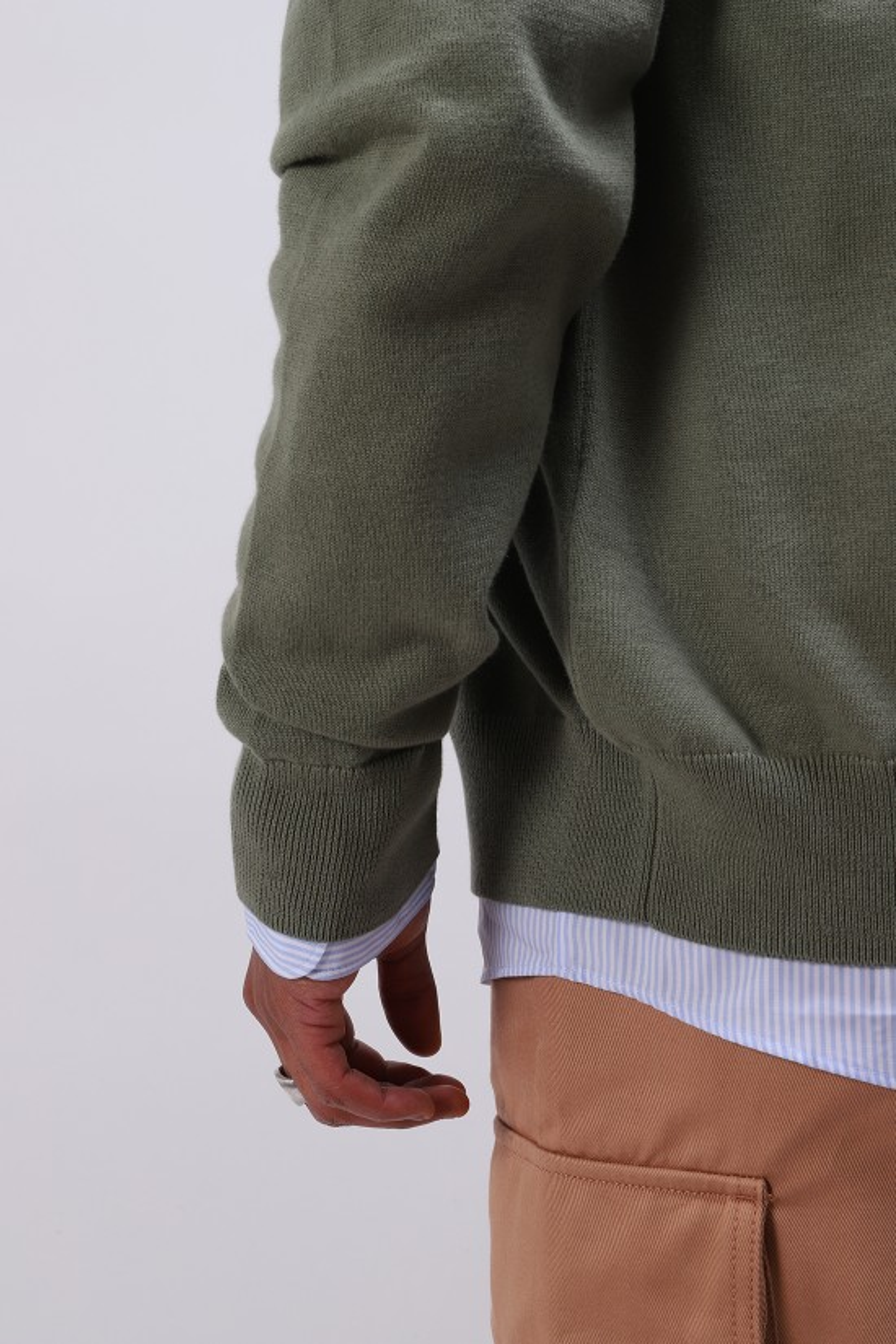 A.P.C. / Cardigan joseph Vert grise