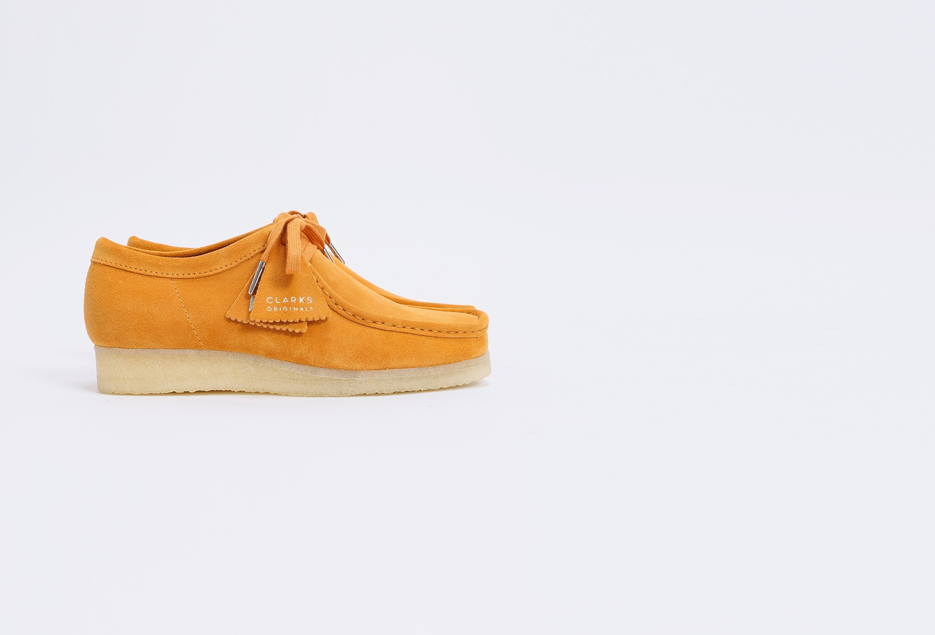 CLARKS ORIGINALS / Wallabee suede Tumeric