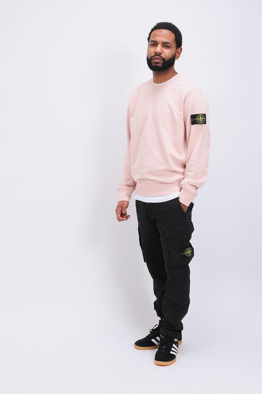 STONE ISLAND / 63051 crewneck sweater v0082 Rosa antico