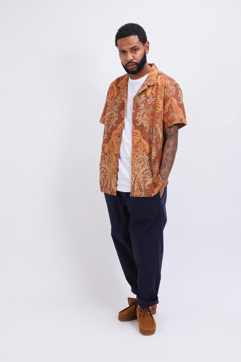 Malick net paisley print shirt Multi