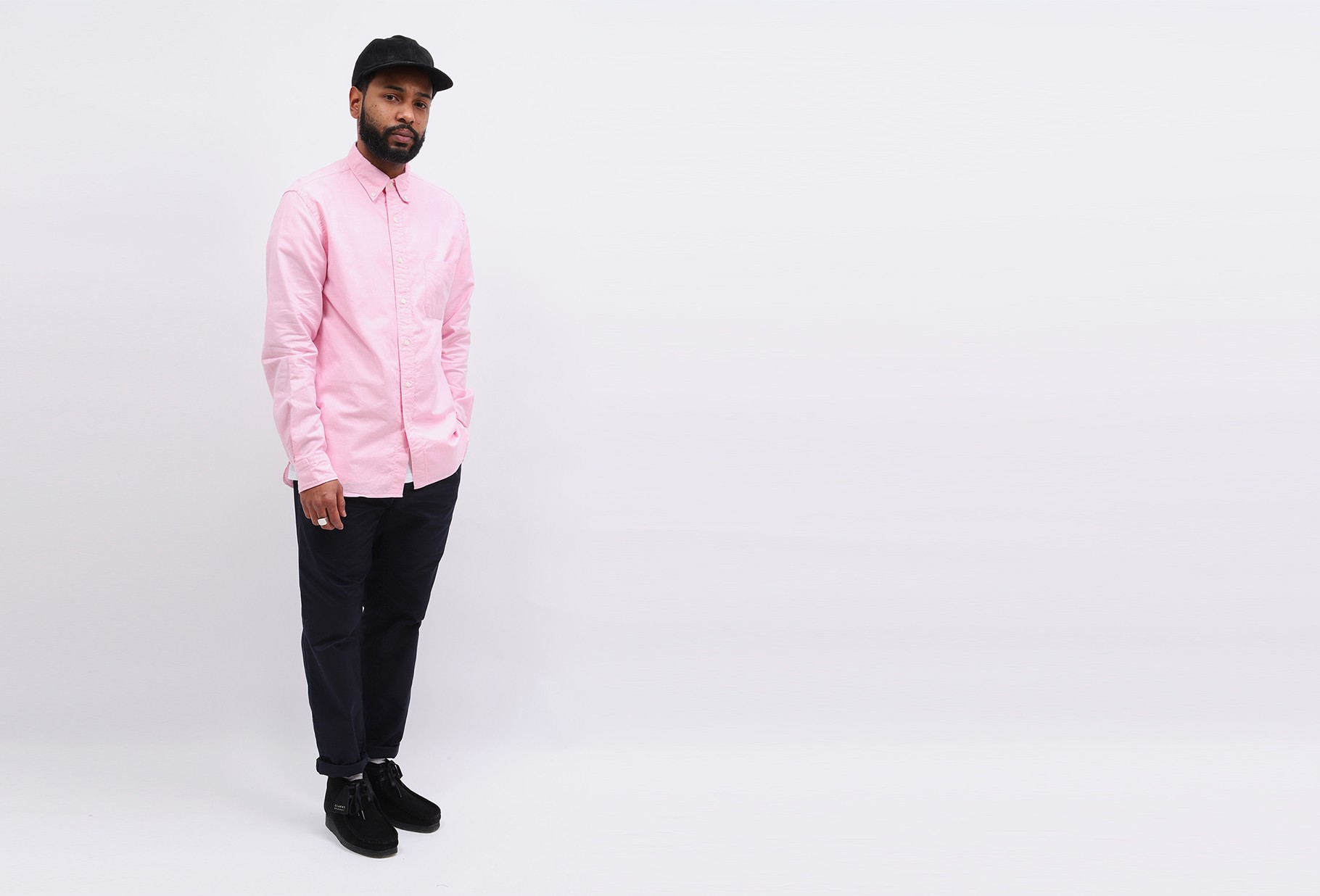 BEAMS PLUS / B.d oxford Pink