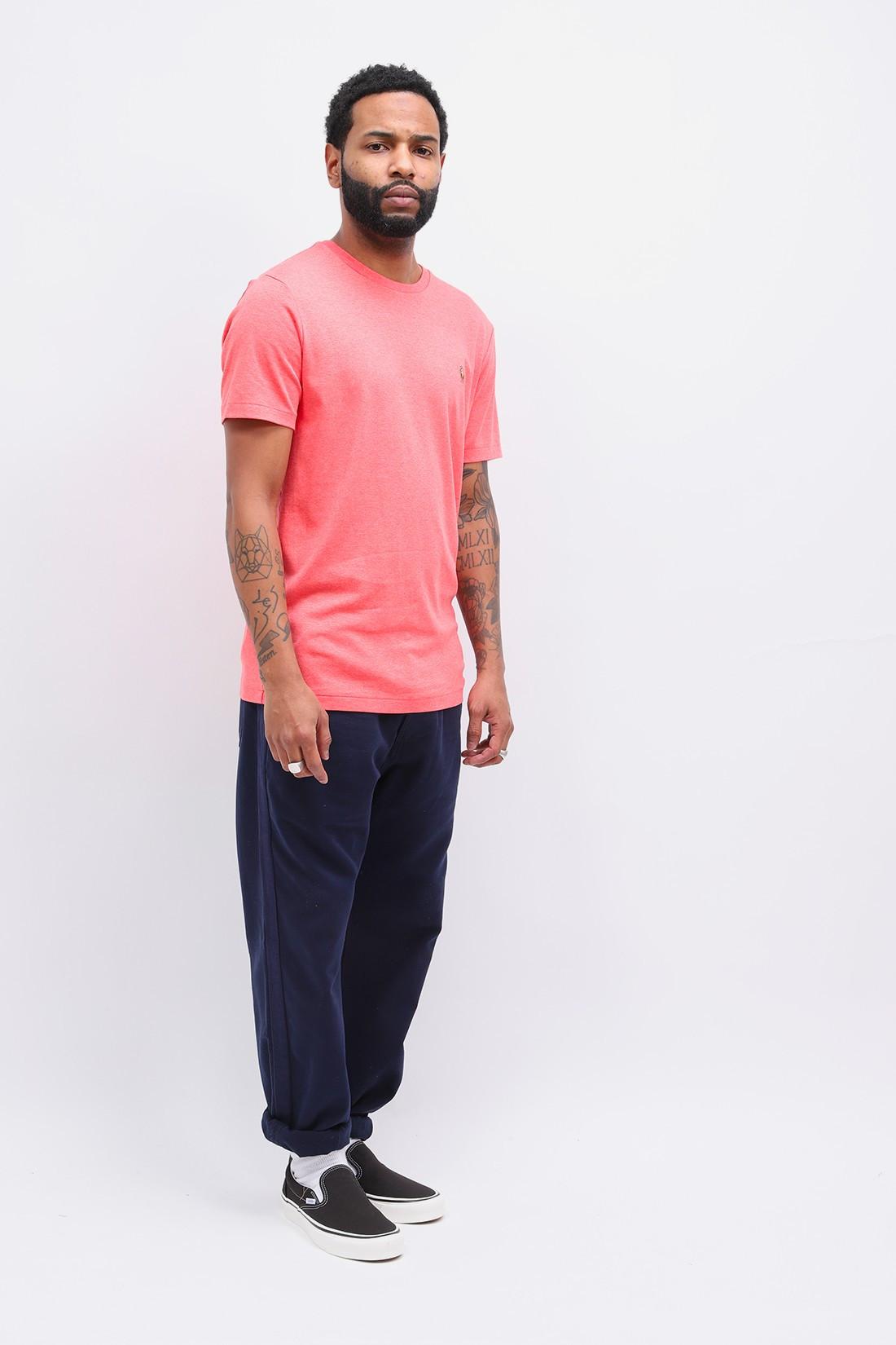 POLO RALPH LAUREN / Custom slim fit tee shirt Pink heather