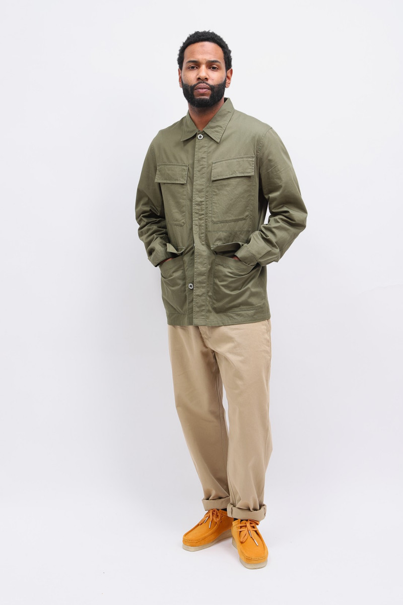 Military chino twill Tan