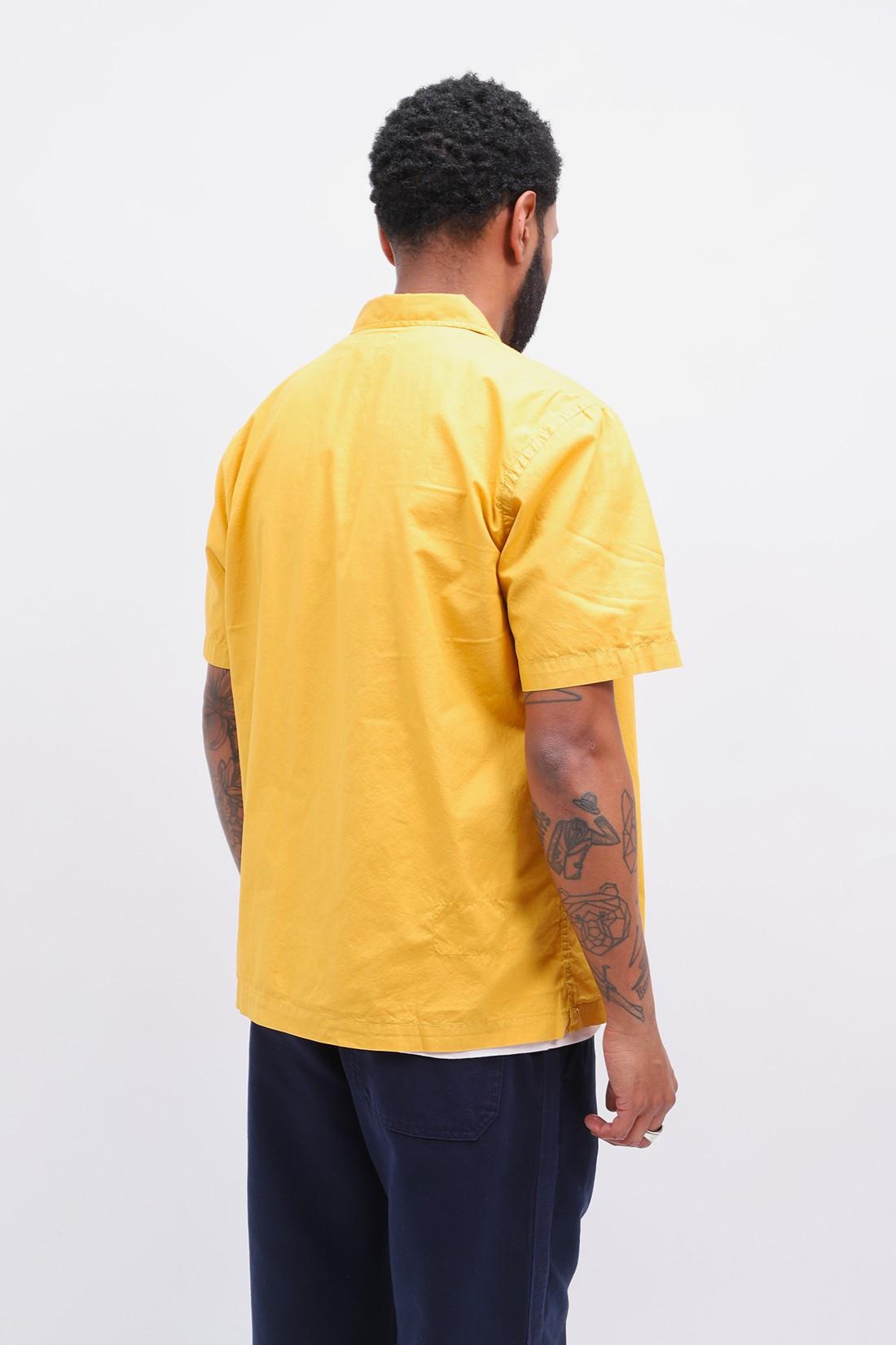 UNIVERSAL WORKS / Road shirt organic fine poplin Gold
