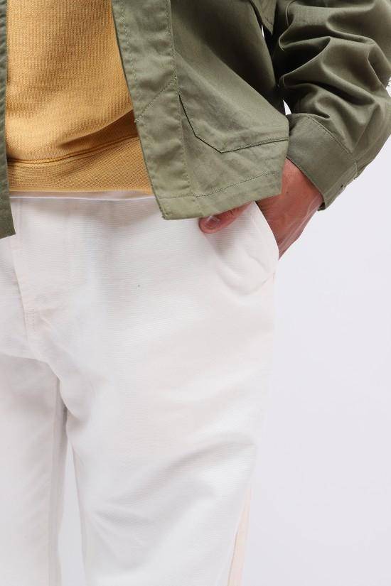 UNIVERSAL WORKS / Track trouser canvas Ecru