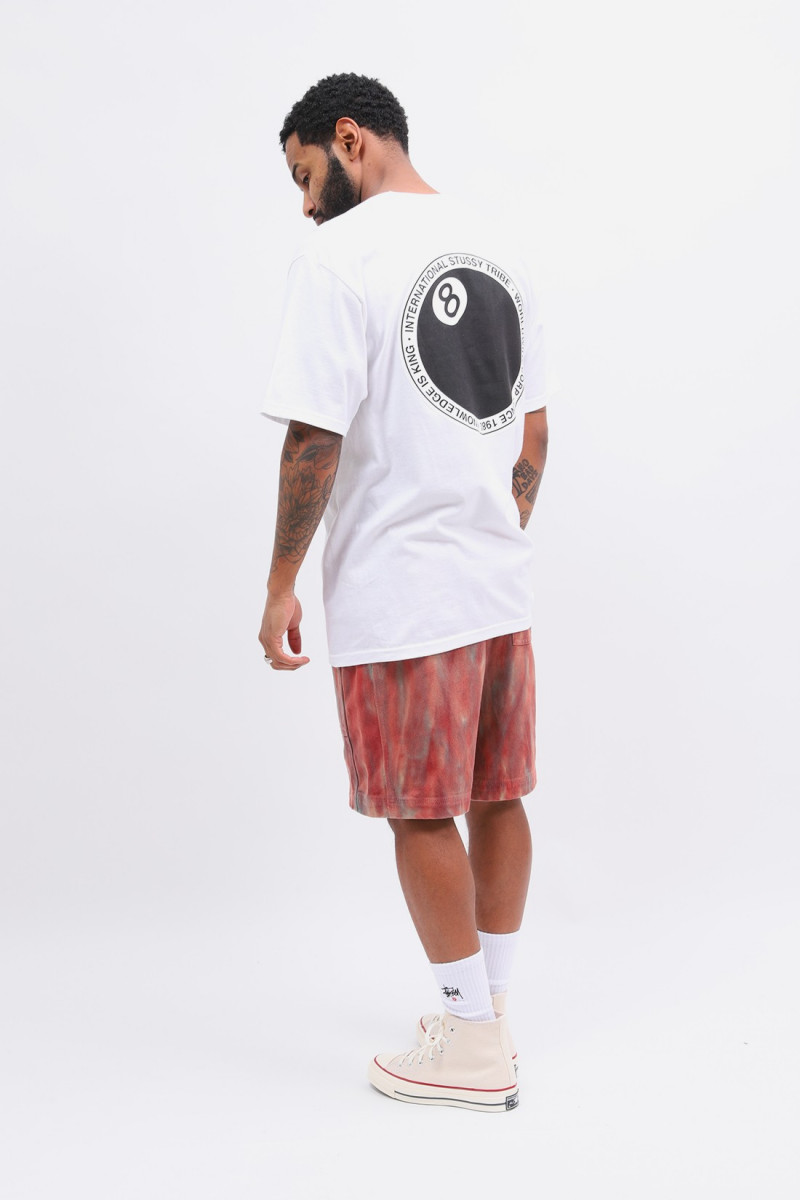 8 ball dot tee White