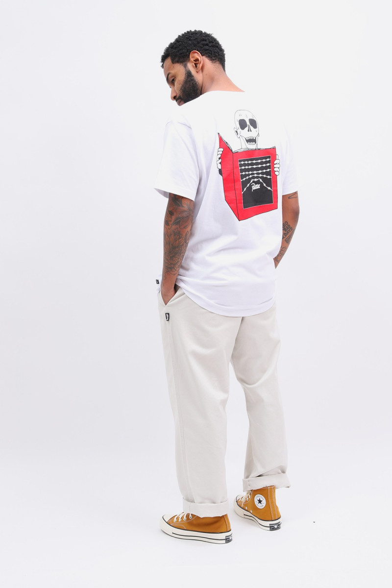 Patta wild flowers ss t-shirt White