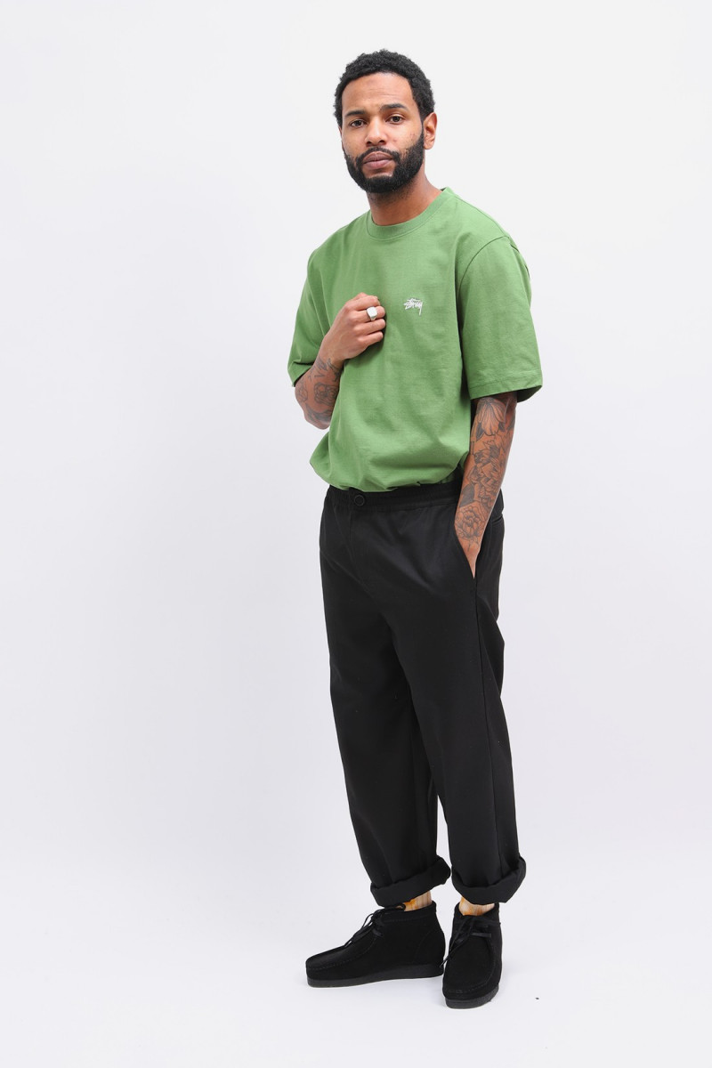 Stock logo s/sl crew Green