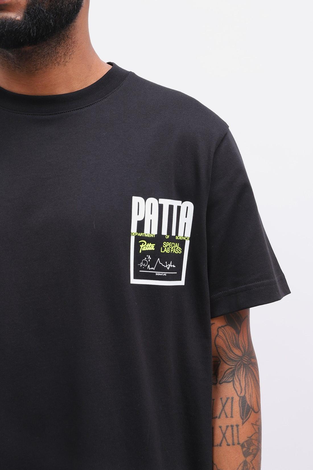 PATTA / Patta values ss t-shirt Black