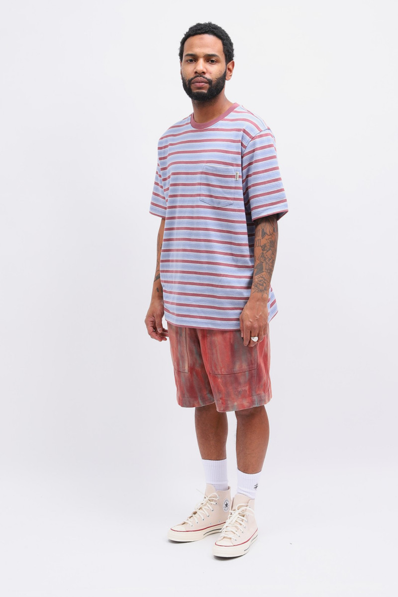 Griffin stripe crew Steel