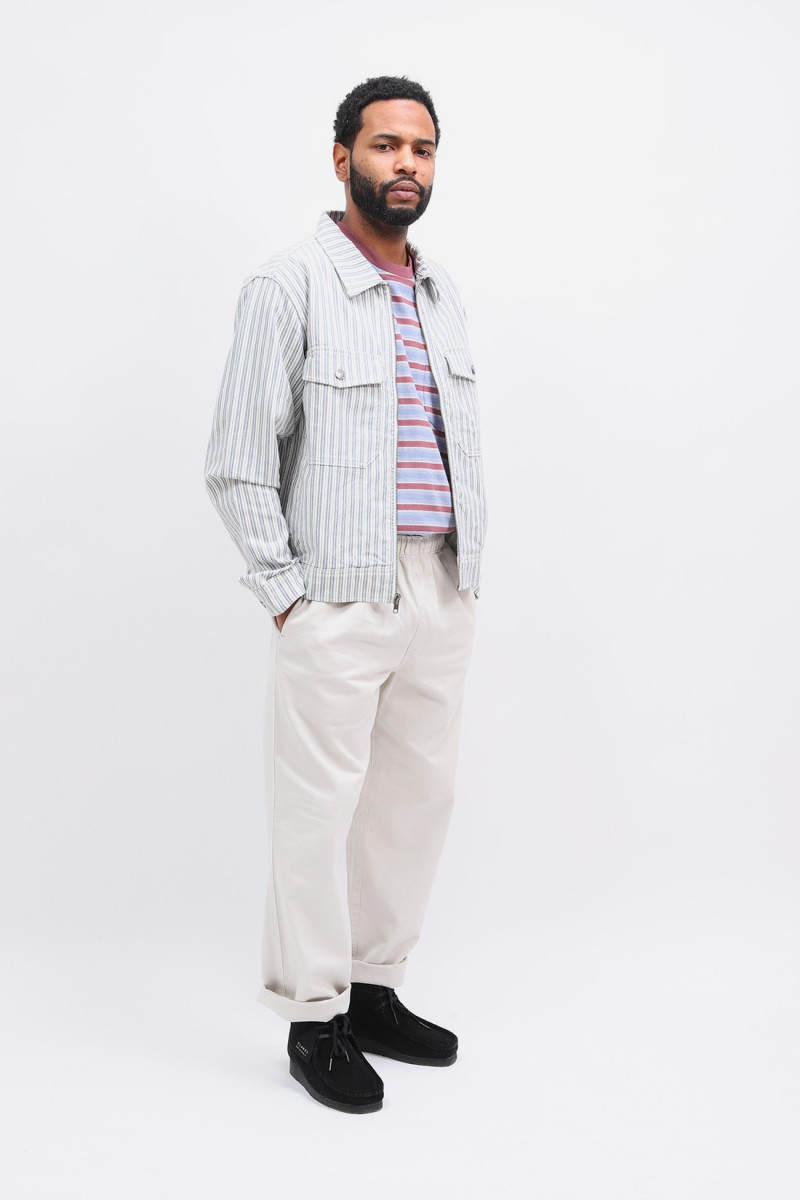 Stripe garage jacket Stripe
