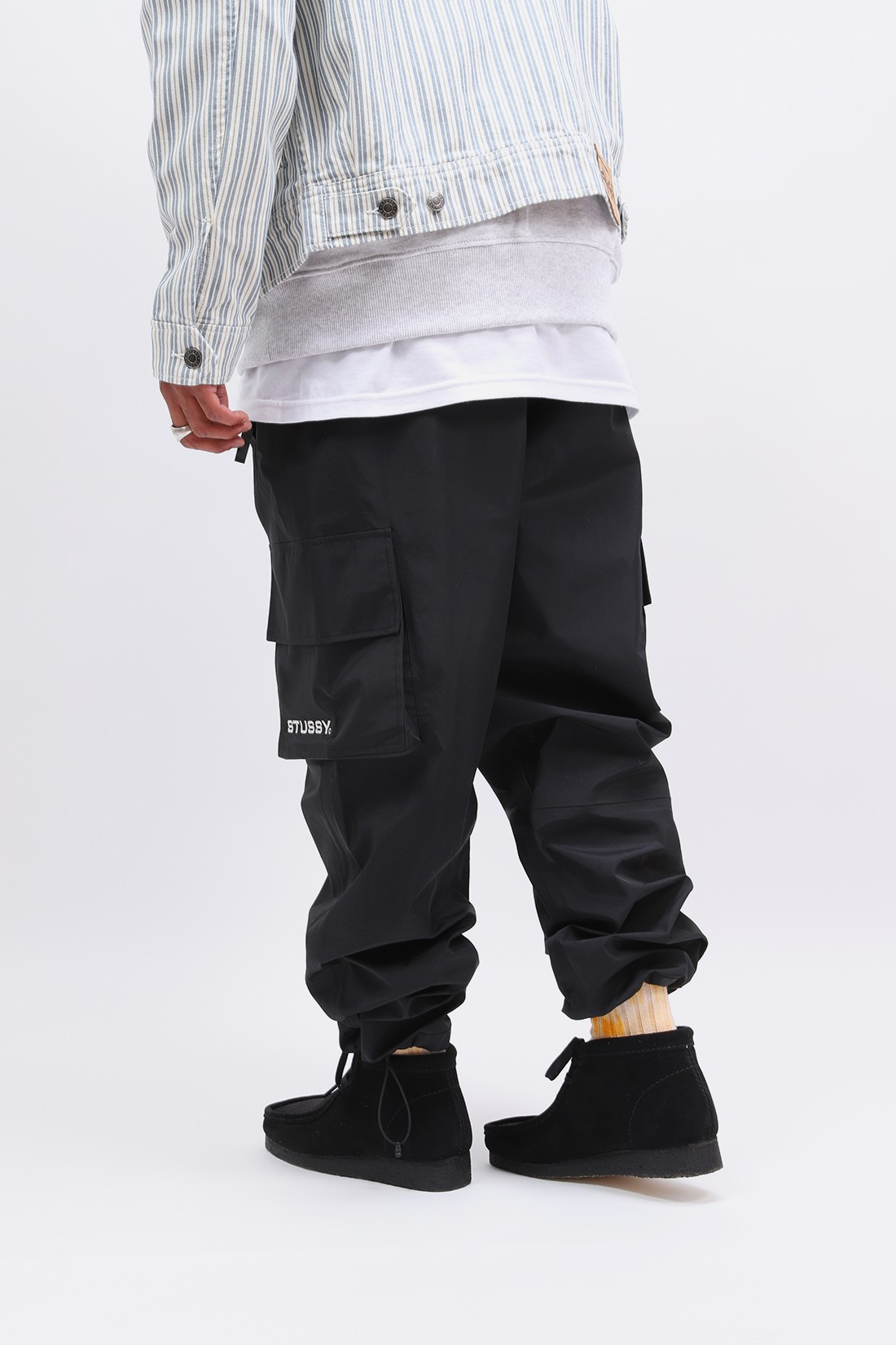 STUSSY / Apex pant Black