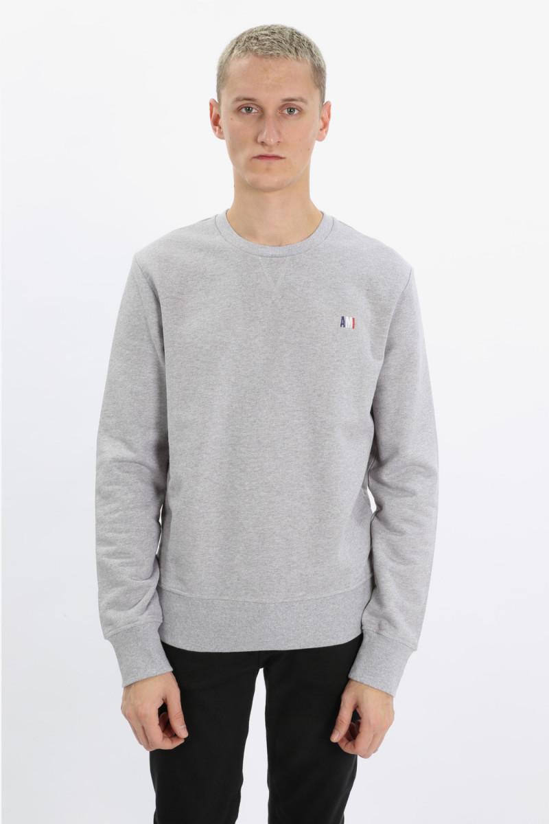 Sweatshirt broderie ami Grey