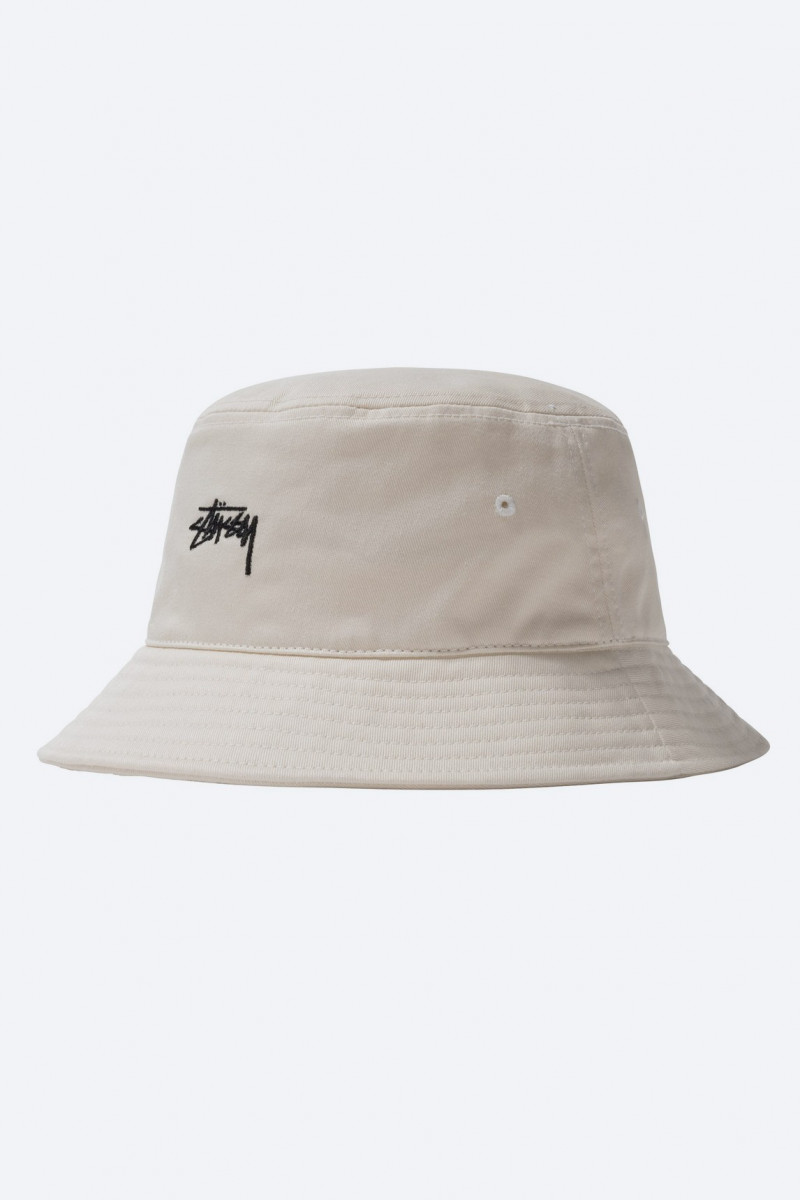 Stock bucket hat Natural