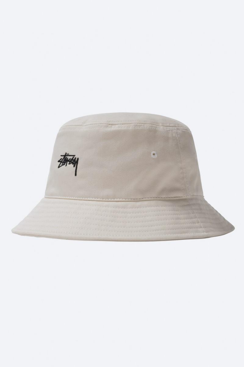 Stock bucket hat Natural