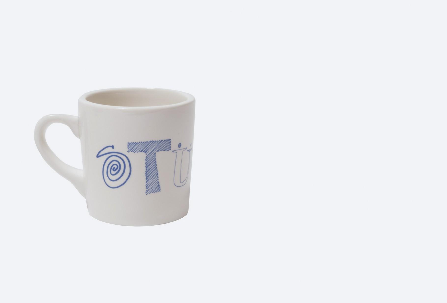 STUSSY / Ransom mug White