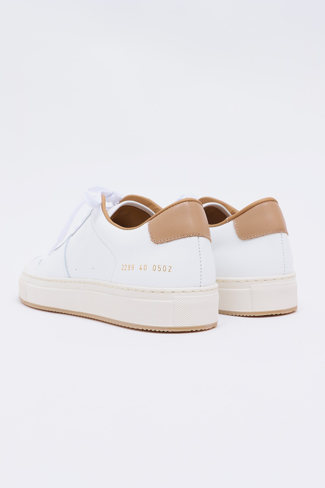 COMMON PROJECTS / Bball '90 2299 White/tan