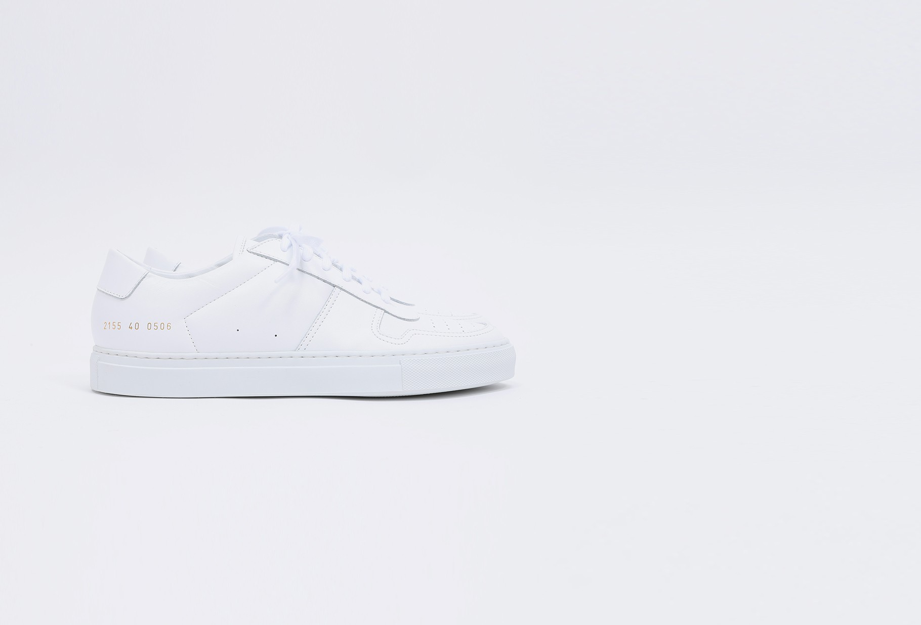 COMMON PROJECTS / Bball low in leather 2155 White 0506
