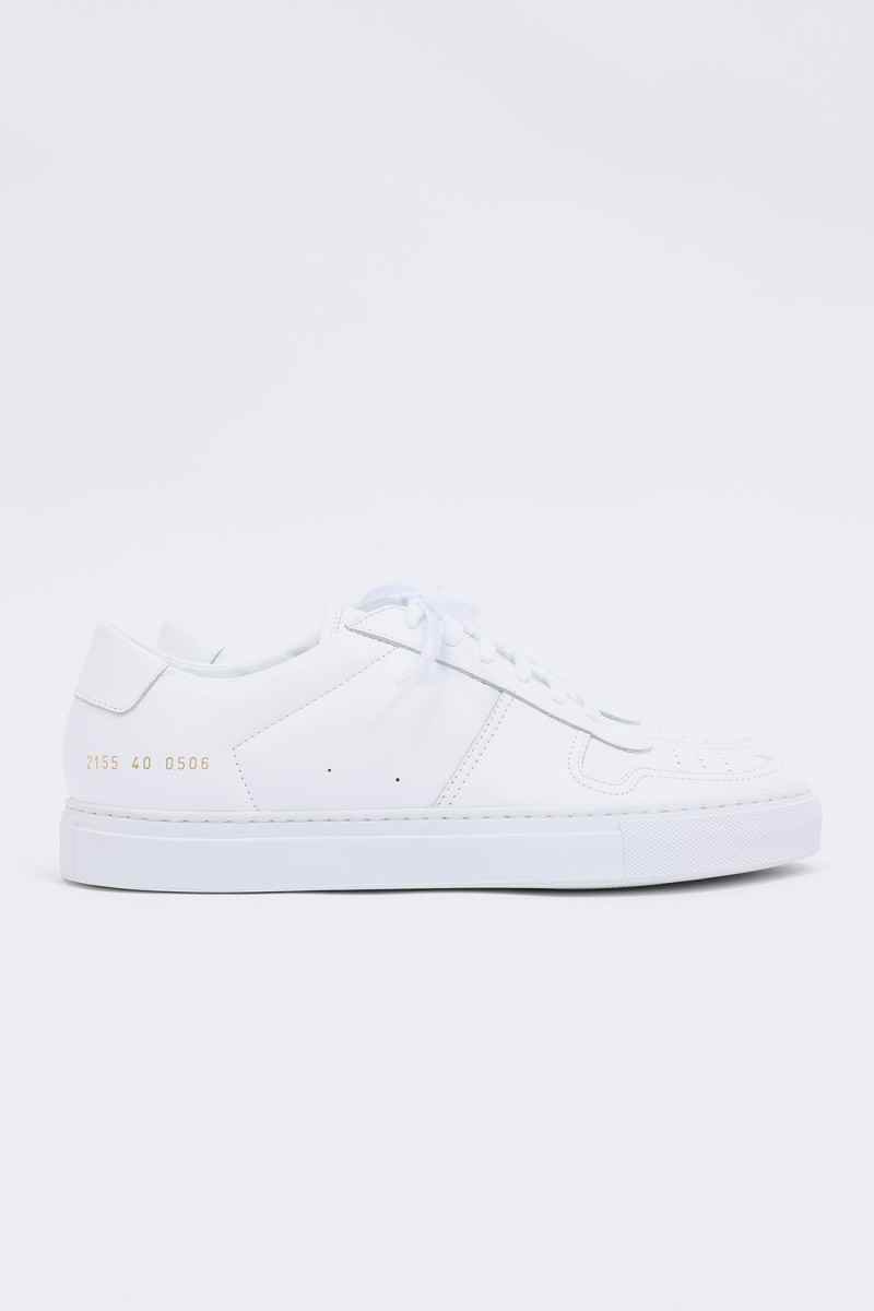 Bball low in leather 2155 White 0506