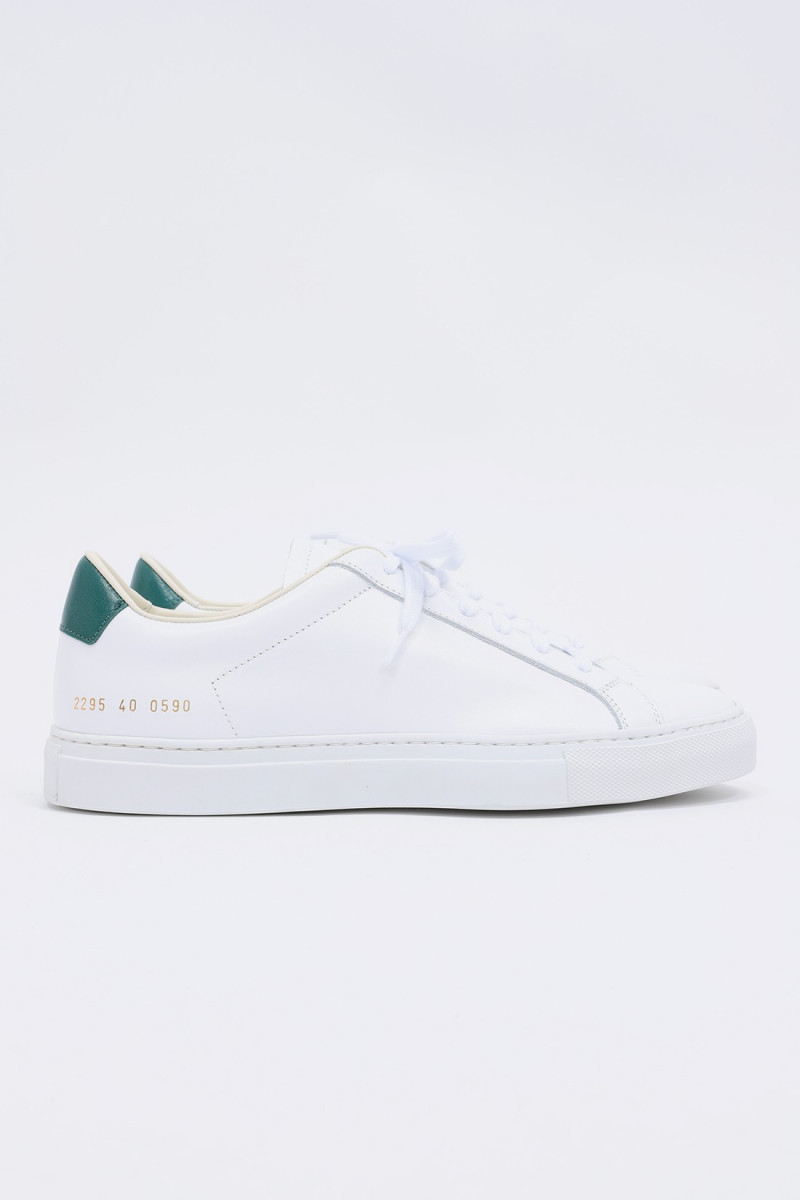 Retro low 2295 White/green