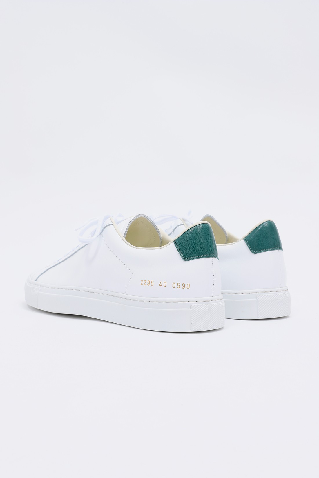 COMMON PROJECTS / Retro low 2295 White/green