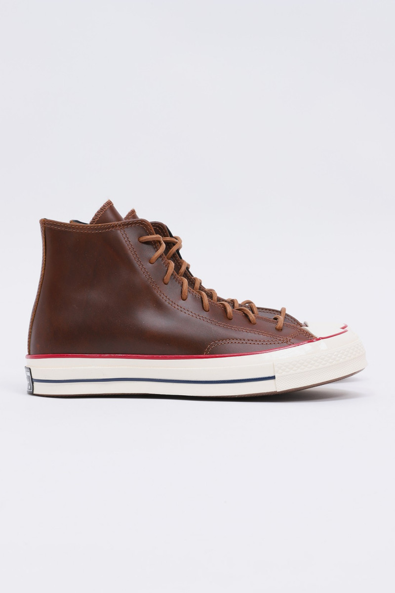 Ctas 70's hi leather Clove brown