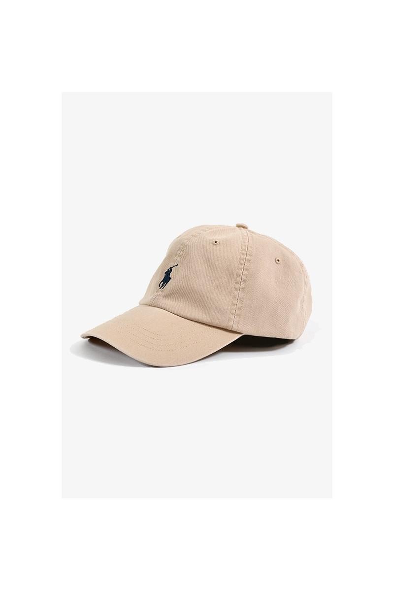 Classic sport cap cotton chino Nubuck/relay blue