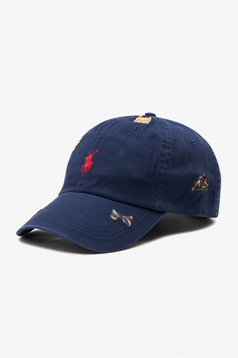 Classic sport cap cotton chino Navy