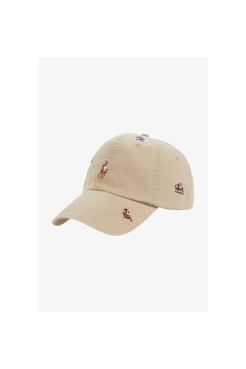 Classic sport cap cotton chino Khaki
