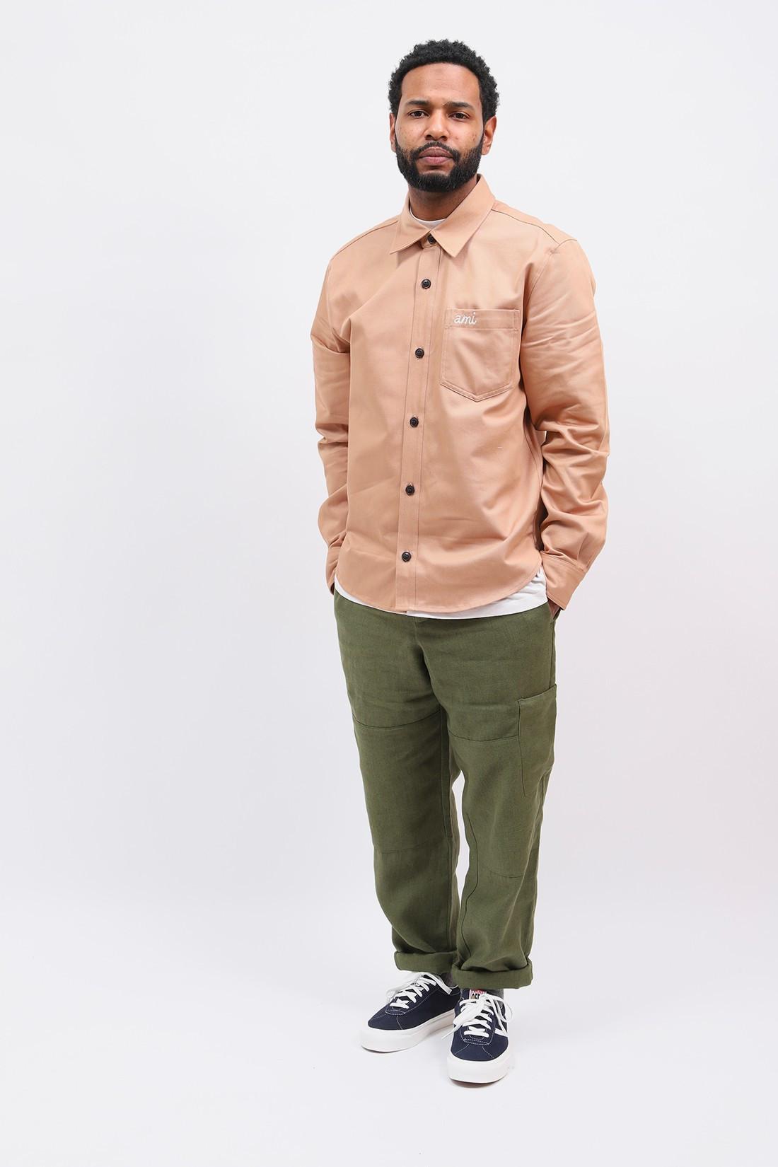 OLIVER SPENCER / Judo pant linen Green