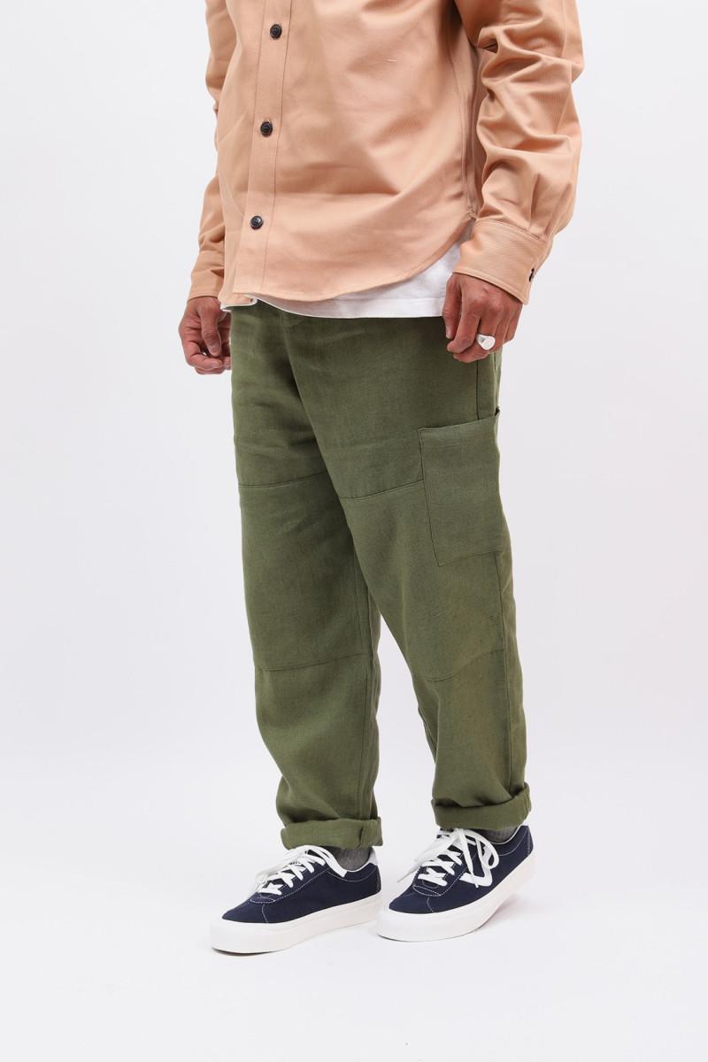 Judo pant linen Green