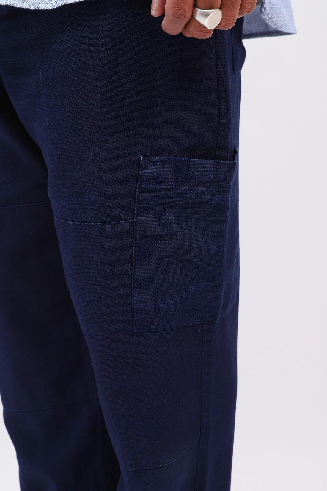 OLIVER SPENCER / Judo pant cotton Navy