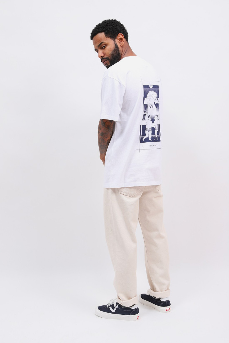 Tarot deck tee shirt White