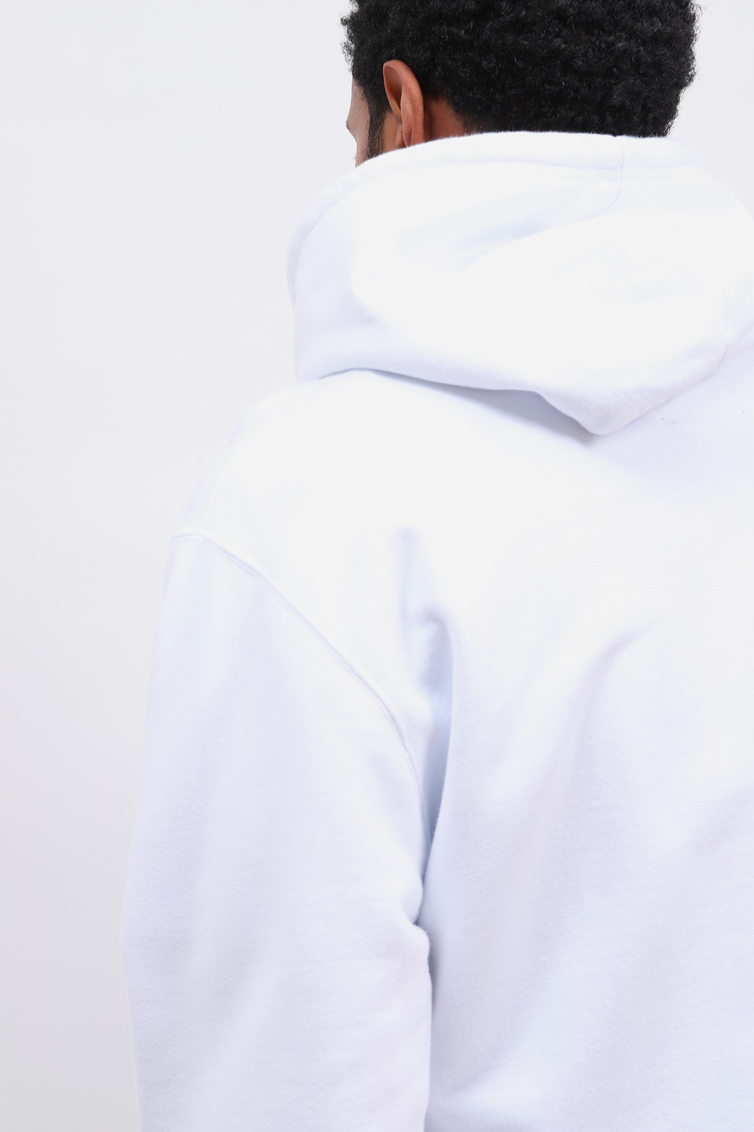 EDWIN / Sunset on mt fuji hoodie sweat White