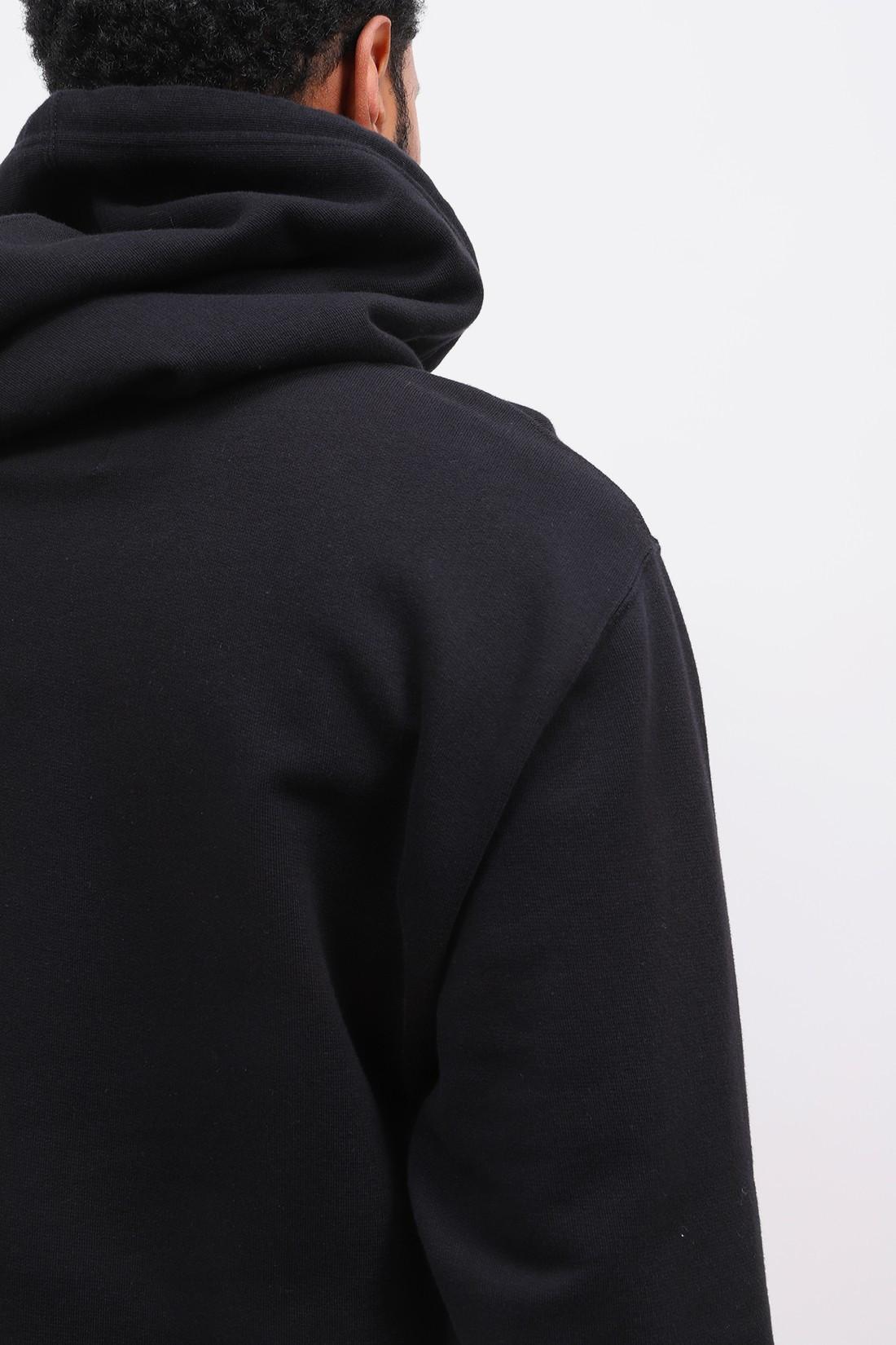 EDWIN / Sunset on mt fuji hoodie sweat Black