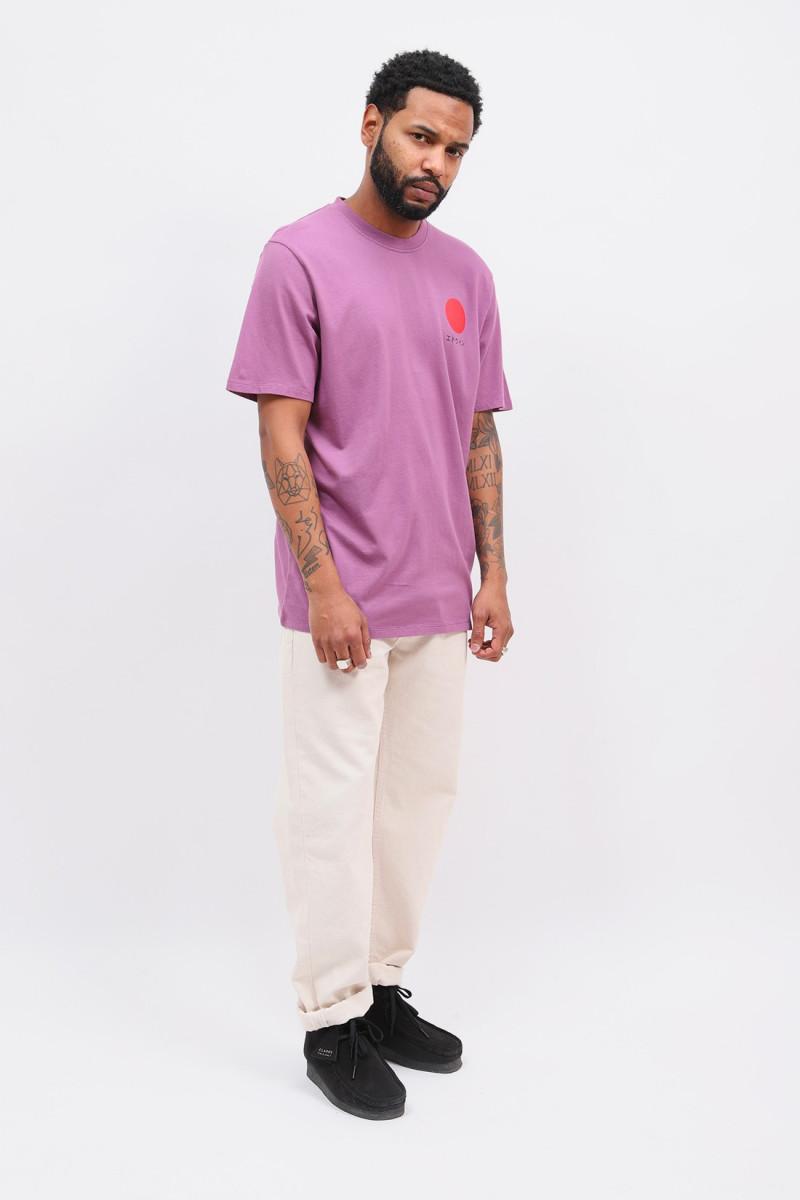 Japanese sun tee shirt Chinese violet