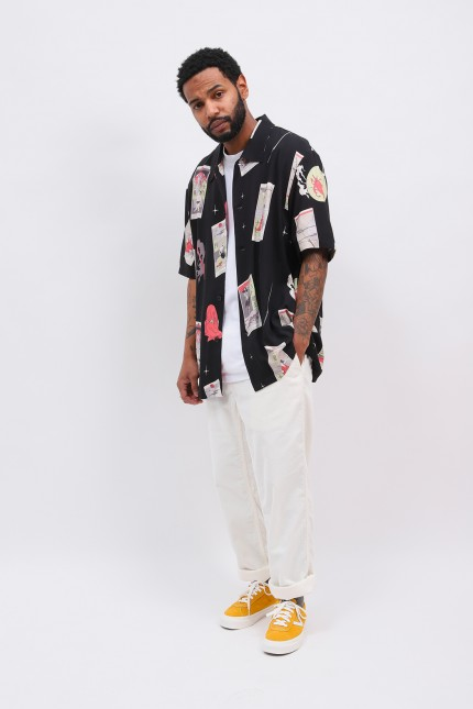 Tarot deck s/s shirt Black